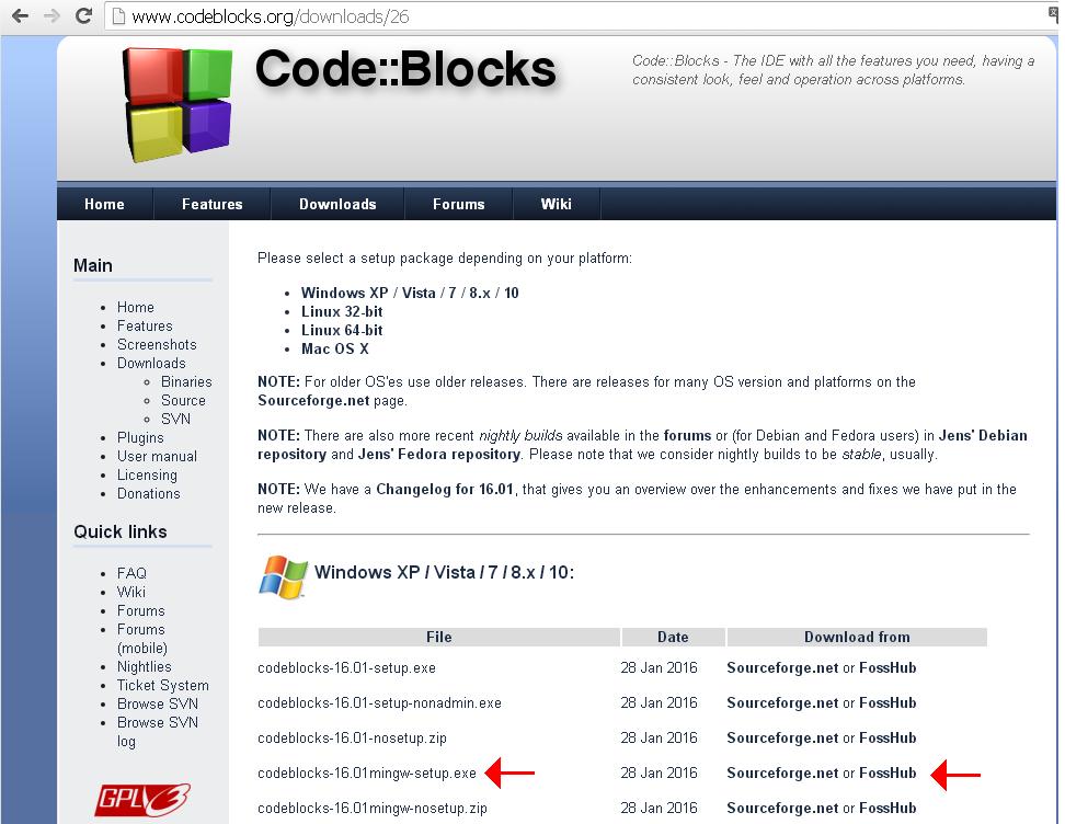 COMPILATEUR BLOCKS AVEC TÉLÉCHARGER 16.01 CODE