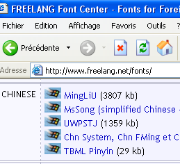 Display chinese characters on computer - turrier fr